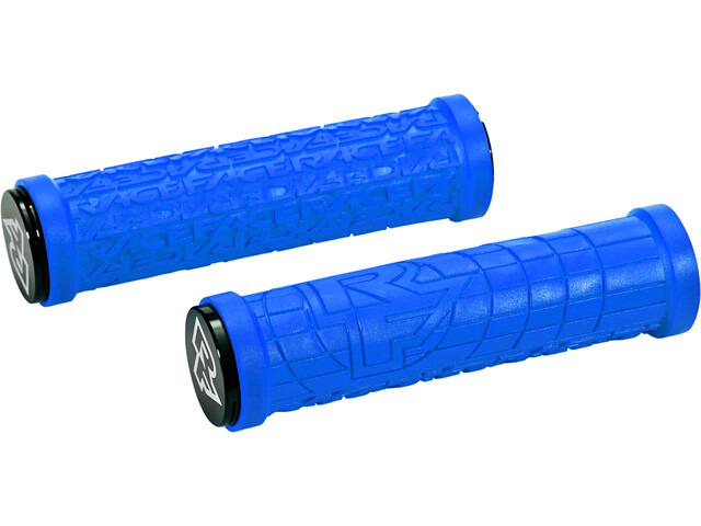 Race Face Grippler Lock-On Grips blue